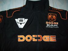NEU DODGE RAM MAGNUM V8 Faan- Jacke schwarz(orange)jacket veste jas giacca jakka