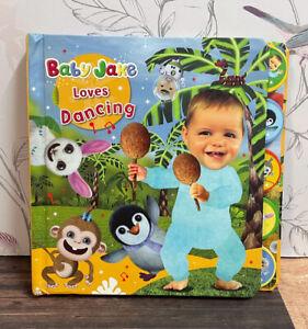 Rare Baby Jake Loves Dancing Tabbed Board Book Cbeebies