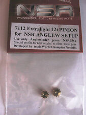 NSR TUNING SPARES PINIONS BRASS 12 TOOTH  NEW 7112