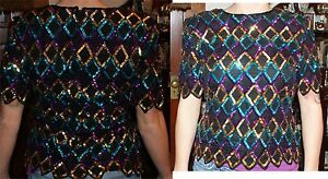 Vintage 80's ZUM ZUM GREEN XMAS NEW YEARS DRESS CUTE SIZE  11/12 ?
