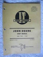 I&T John Deere 2510 & 2520 Series, Tractor Shop Manual