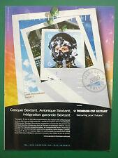 7/2000 PUB THOMSON-CSF SEXTANT CASQUE HMDS TOPSIGHT E HELMET MIRAGE 2000 AD