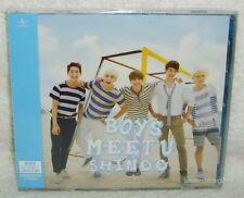 SHINee Boys Meet U Taiwan CD only+ trading card  [Japanese Lan] 6-trks