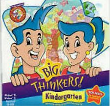 BIG THINKERS KINDERGARTEN PC/MAC Education Software NEW