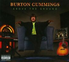 Above the Ground [PA] [Digipak] by Burton Cummings (CD & DVD) The Guess Who