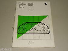 Schulungsunterlage Seminar BMW 7er E32 Kombiinstrument Check-Control 03/1986