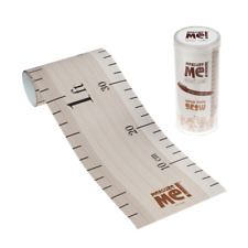 Measure Me! Retro Ruler - Children's Roll-Up Wall Growth Height Chart 0-200cm