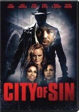 City Of Sin DVD CARLA GUGINO USED VERY GOOD