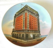 Antique Hotel Oregon Souvenir Plate Louis Scheiner Jonroth Studios Germany