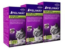 Feliway Pheromone Travel Spray, 20mL x 3 packs