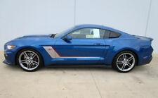 2015-2018 Mustang Roush Quarter Panel Side Scoops Lightning Blue N6 Pair