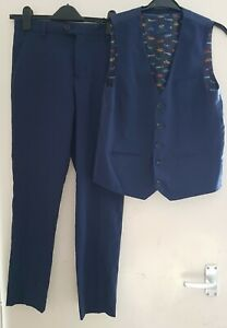 NEXT Boys  Formal Trousers & Matching Waistcoat 13 years old
