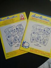 New 2 Unopened #3681 Busy Bee Aunt Martha's Hot Iron Transfers