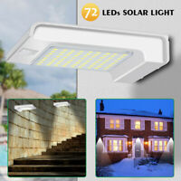 72 LED Solar Power Motion Sensor Light Outdoor WALL Waterproof Security