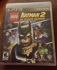 LEGO Batman 2: DC Super Heroes Sony PlayStation 3, 2012 Original Case Video Game