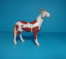 Schleich FarmLife Pferd~Pinto Hengst,Horse brown-white/braun-weiß gescheckt13241