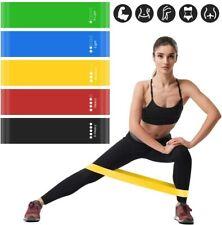 5 Pcs Resistance Exercise Loop Bands Fitness Yoga Training Bandas de resistencia