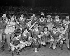 Liverpool 1984 European Cup Champions - 8x10 B&WTeam Photo