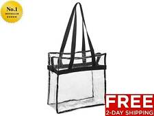 New Clear Tote Bag 12 X 12 X 6 NFL Stadium Approved Work School Sports Beach