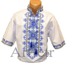 Ukrainian Embroidery Shirt for men. Cross stitch. 2XS-3XL Free shipping!