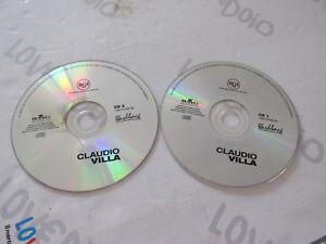 CD CLAUDIO VILLA I GRANDI SUCCESSI ORIGINALI - DOPPIO CD BMG 2000