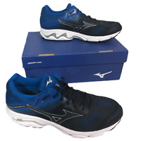 Mizuno Wave Inspire 15 Running Trainers Size 10.5 Blue Black Sport J1GC194421