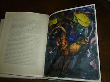 H. de MONTHERLANT : LE CHAOS ET LA NUIT 1964 Ed.O  LITHO ORIGINALE DE W.SPITZER
