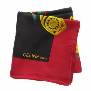 CELINE   Scarf Horseshoe design Silk