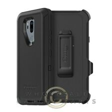 LG G7 ThinQ Defender Case - Black Case Cover Shell Shield Protector