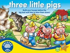 Orchard Toys Educational Games - Three Little Pigs - Brand New