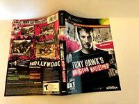 Tony Hawks American Wasteland Original Xbox ARTWORK ONLY Authentic Insert