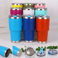 30oZ Stainless Steel Tumbler Vacuum Double Wall Insulation Travel Mug Cup Coffee