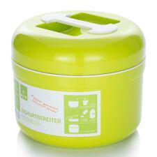 My.Yo stromloser Joghurtbereiter, BPA-frei, Joghurtmaschine ohne Strom, Limette