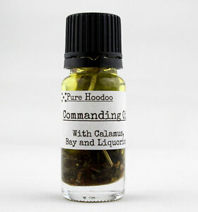 **COMMANDING** Hoodoo Condition Oil: (Domination, Compelling) - Magic | Handmade