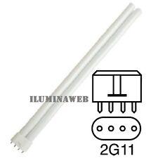Bombilla Eco 2G11 - PL-L 4 pin 36w Luz Blanca 4200K = 840 bajo consumo downlight