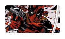 Deadpool Hero Comic Movie License Plate Auto Truck Car Tag Gift FREE SHIP
