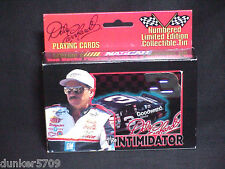1999 NASCAR DALE EARNHARDT DOUBLE DECK PLAYING CARDS W/COLLECTIBLE TIN LIMITED