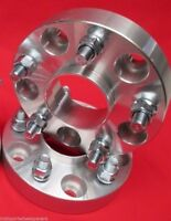 1in M12 x 1.25mm 4//110 Aluminum Pair Kimpex Wheel Spacer with Lock Nuts
