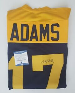 Davante Adams #17 Green Bay Packers Throwback Autographed Jersey