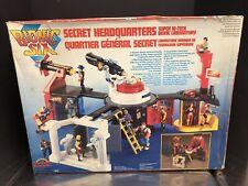 LJN Toys Vintage 1986 Bionic Six Secret Headquarters Sealed Box Rare! Dela0145