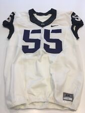 Game Worn Used Nike TCU Horned Frogs Football Jersey #55 Size 44