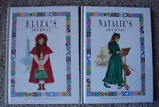 Eliza's Journal Natalie's Journal Lot 2 Liberty Landing Collection Ills  HB