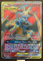 Pokemon Card  CHARIZARD & BRAIXEN GX  Ultra Rare  212/236 COSMIC ECLIPSE **MINT*