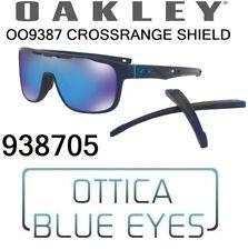 Occhiali da Sole OAKLEY CROSSRANGE SHIELD OO 9387 05 Sunglasses 938705 PRIZM