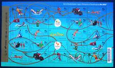 Brasilien Brasil 2015 Mi. 4303-4327 Zd. Bogen ** MNH Olympiade Olympic RIO 2016
