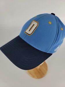 Denver Nuggets Adidas Vintage Blue Fitmax 70 Fitted Hat Cap #78