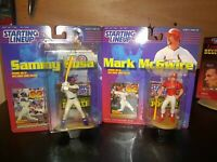 Mark McGwire and Sammy Sosa Starting Lineup Record Breakers