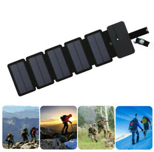 Solar Power Bank Portable Cell Phone Charger Pane for Samsung IPhone Android