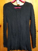 Nautica French Ribbed Track Jacket Charcoal Heather Mens Size Large New