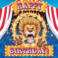BIG TOP BIRTHDAY LUNCH NAPKINS PACK OF 16 BIRTHDAY PARTY SUPPLIES